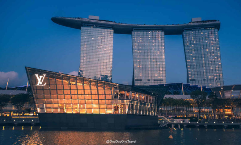 Singapour Marina Bay Sands Louis Vuitton