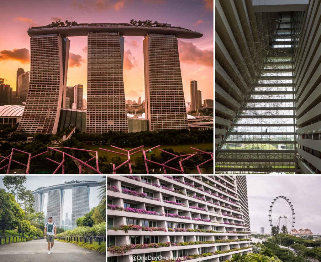 Marina Bay Sands emblème architectural de Singapour