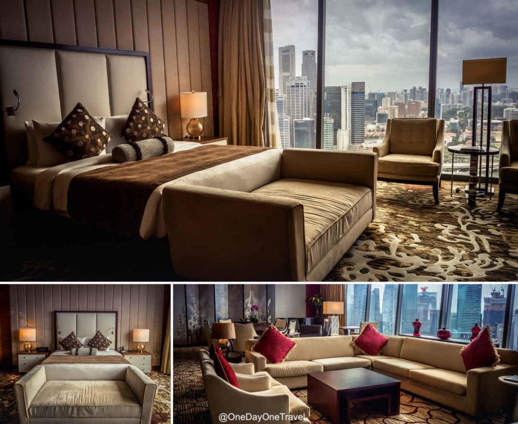 Singapour Marina Bay Sands chambre suite