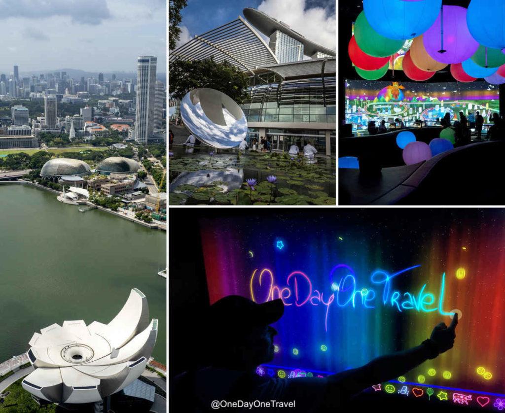 Singapour ArtScience Museum expositions
