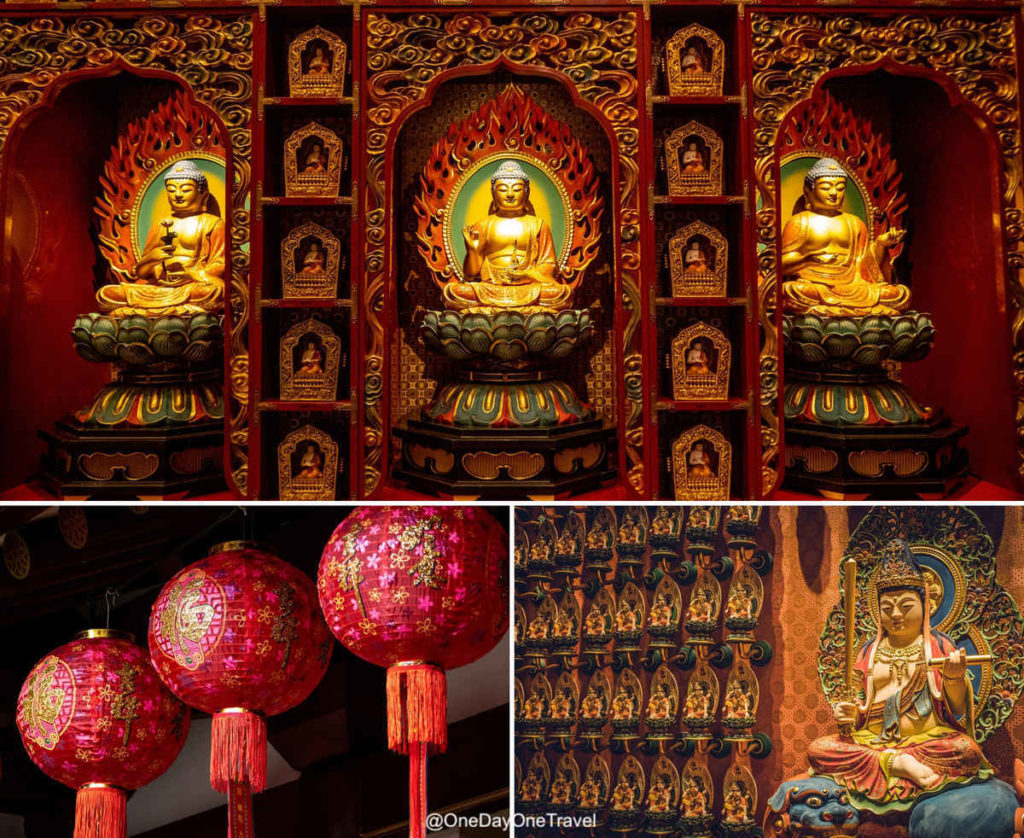 singapour chinatown temple relique dent bouddha