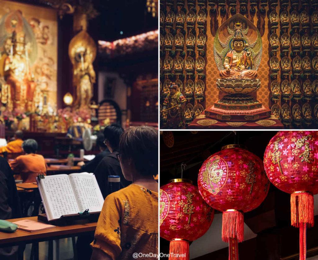 singapour chinatown temple relique dent bouddha quartier chinois
