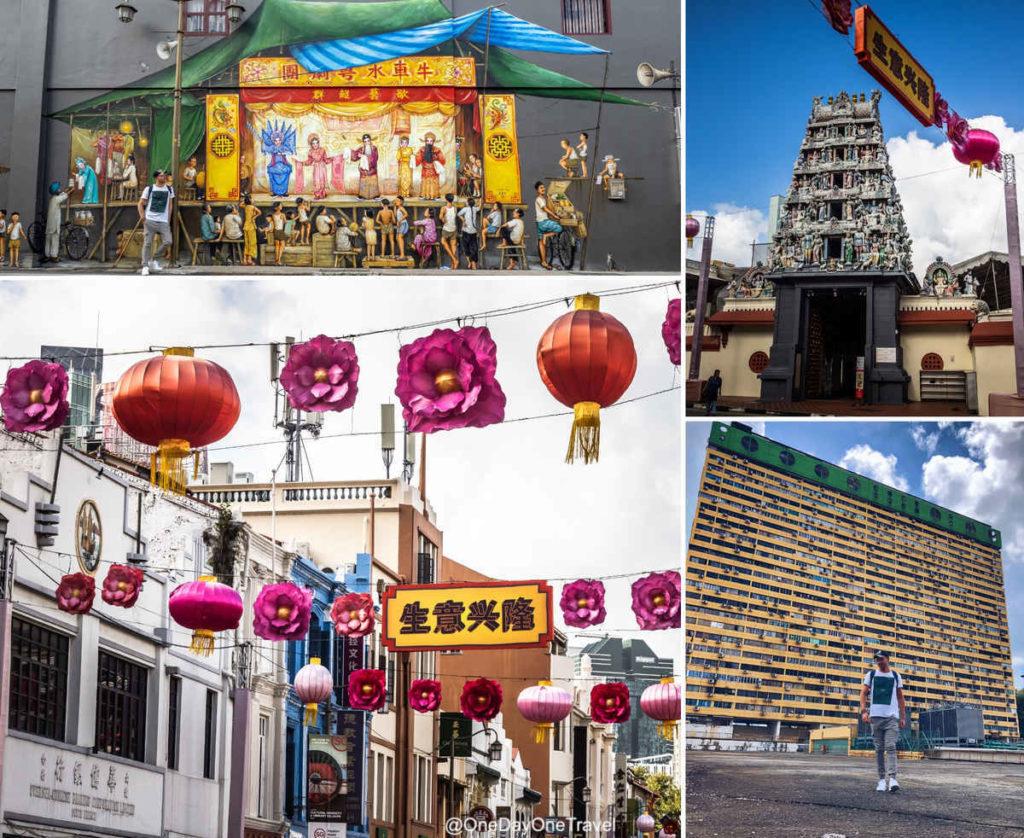 Visiter Singapour et chinatown quartier chinois