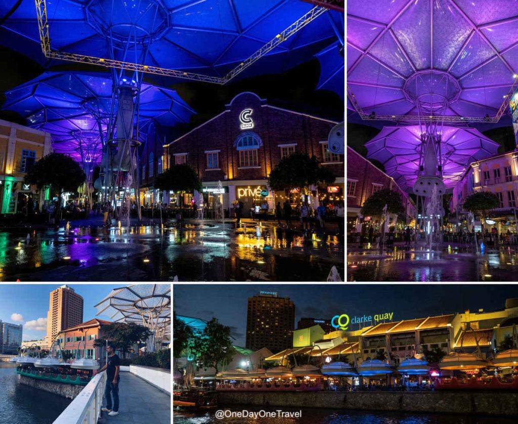 Visiter le quartier de Clarke Quay à Singapour