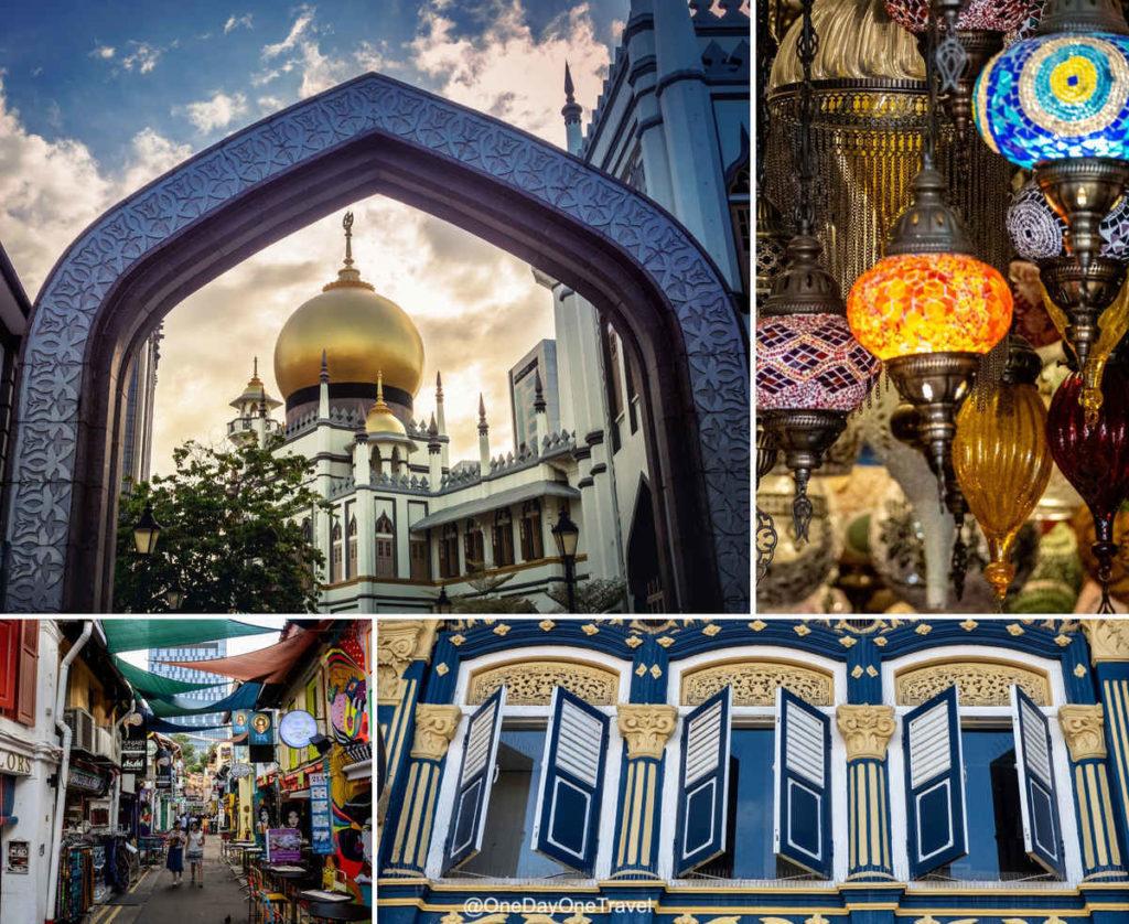 Visiter le quartier Kampong Glam à Singapour