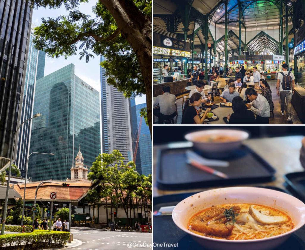 singapour lau pa sat marché