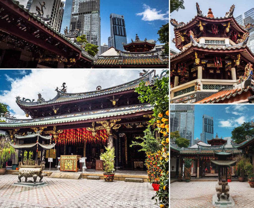 Visiter Singapour et le quartier chinois temple