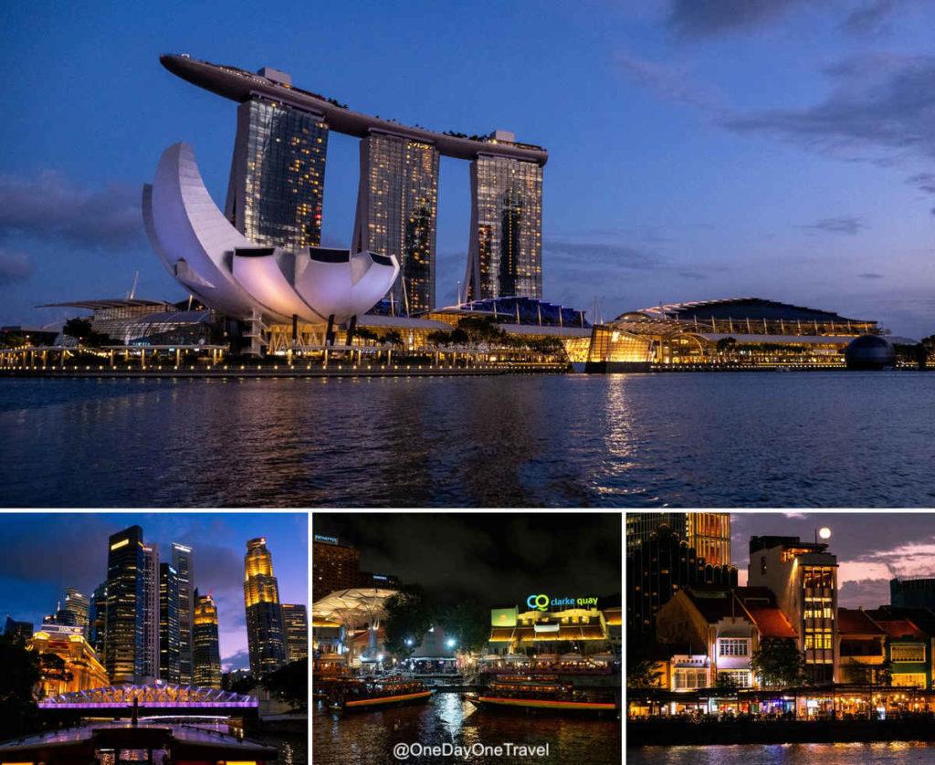 Marina Singapour rivercruise