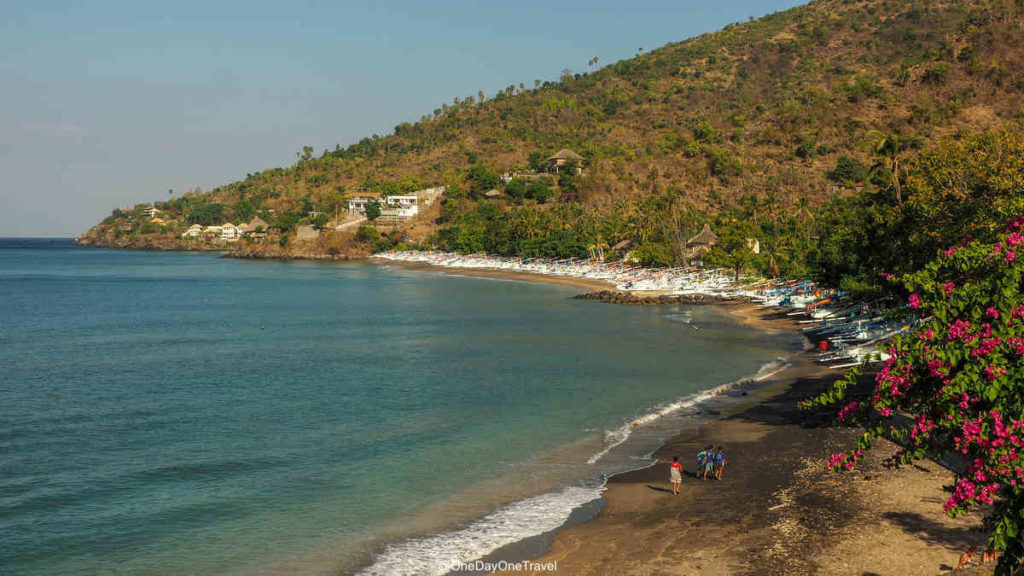 Plage d'Amed Bali