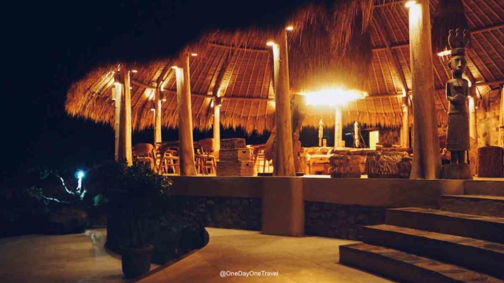 Espace restauration du Mathis Lodge Amed - Où dormir à Bali