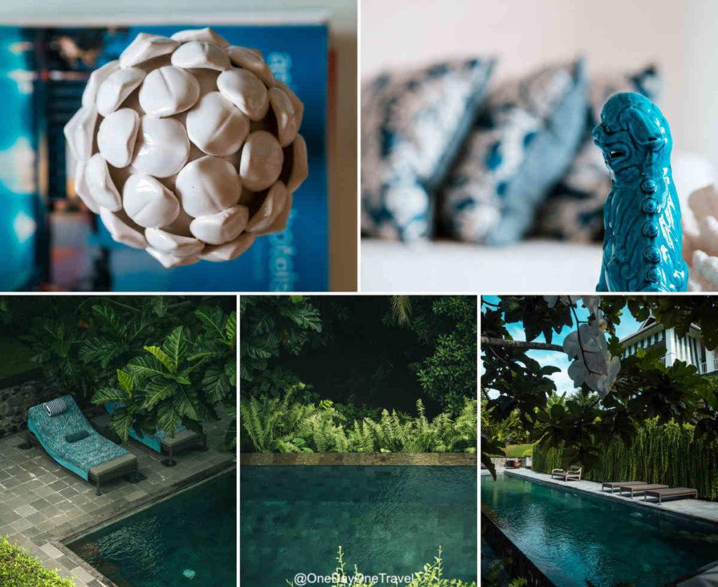 Décoration soigneuse aussi bien en intérieur qu'en extérieur - Maison Simba Bali