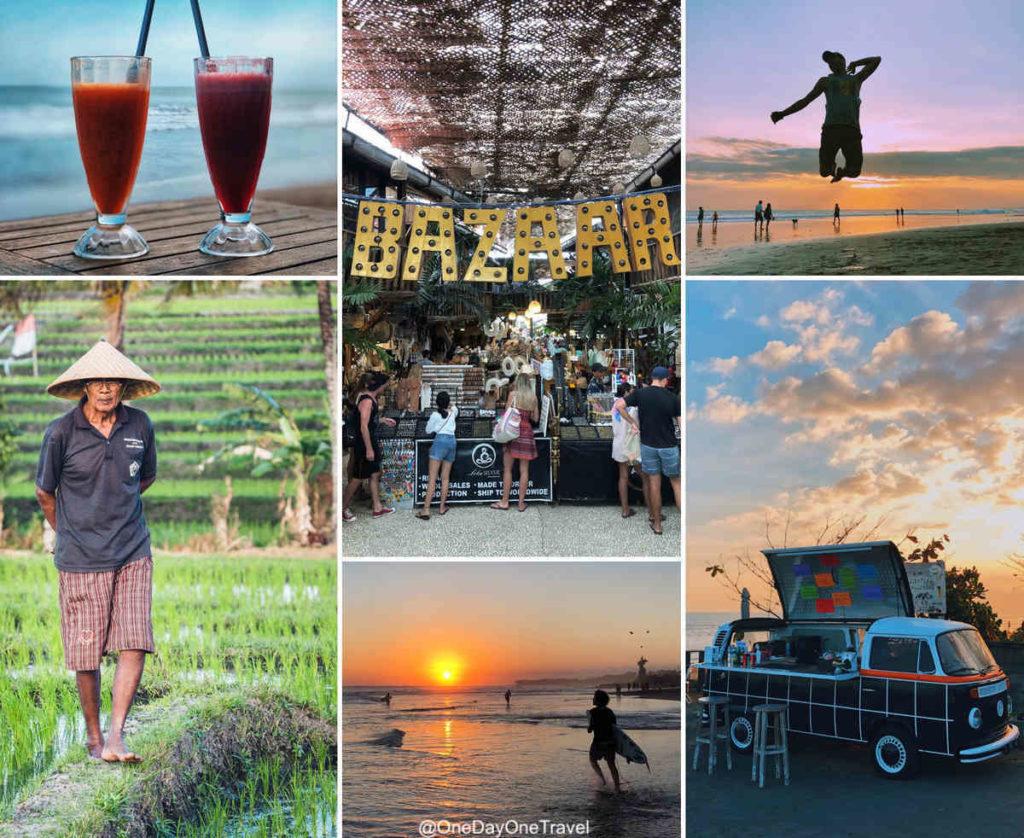 Canggu entre terre et mer - Visiter Bali