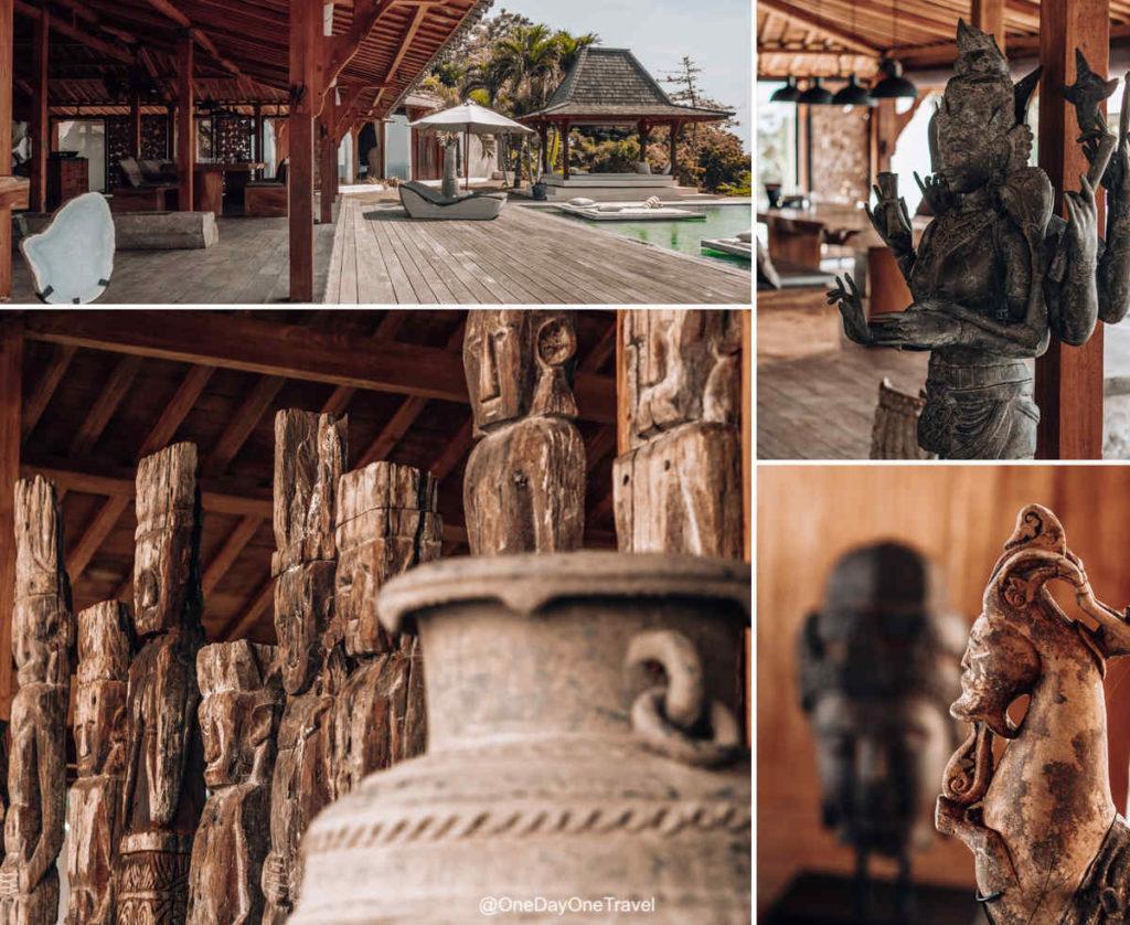 Décoration intérieure ethnique - Joglovina à Lovina Bali