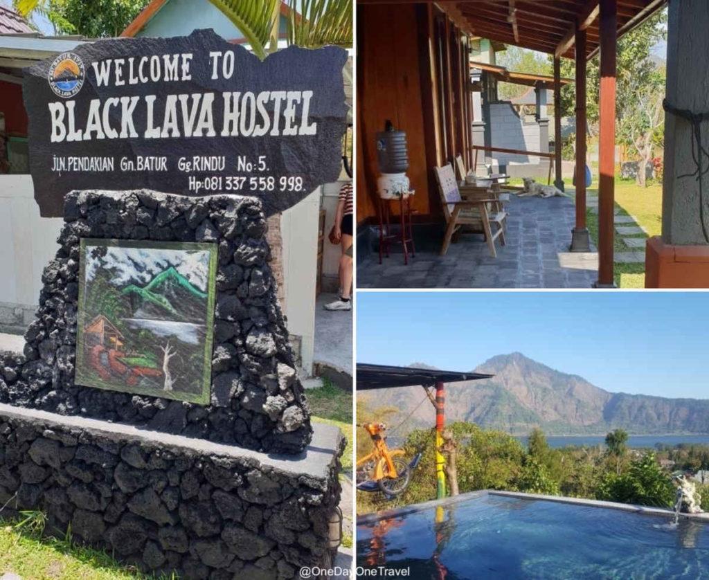 Black Lava Hostel à Kintamani - Où dormir à Bali proche du mont Batur