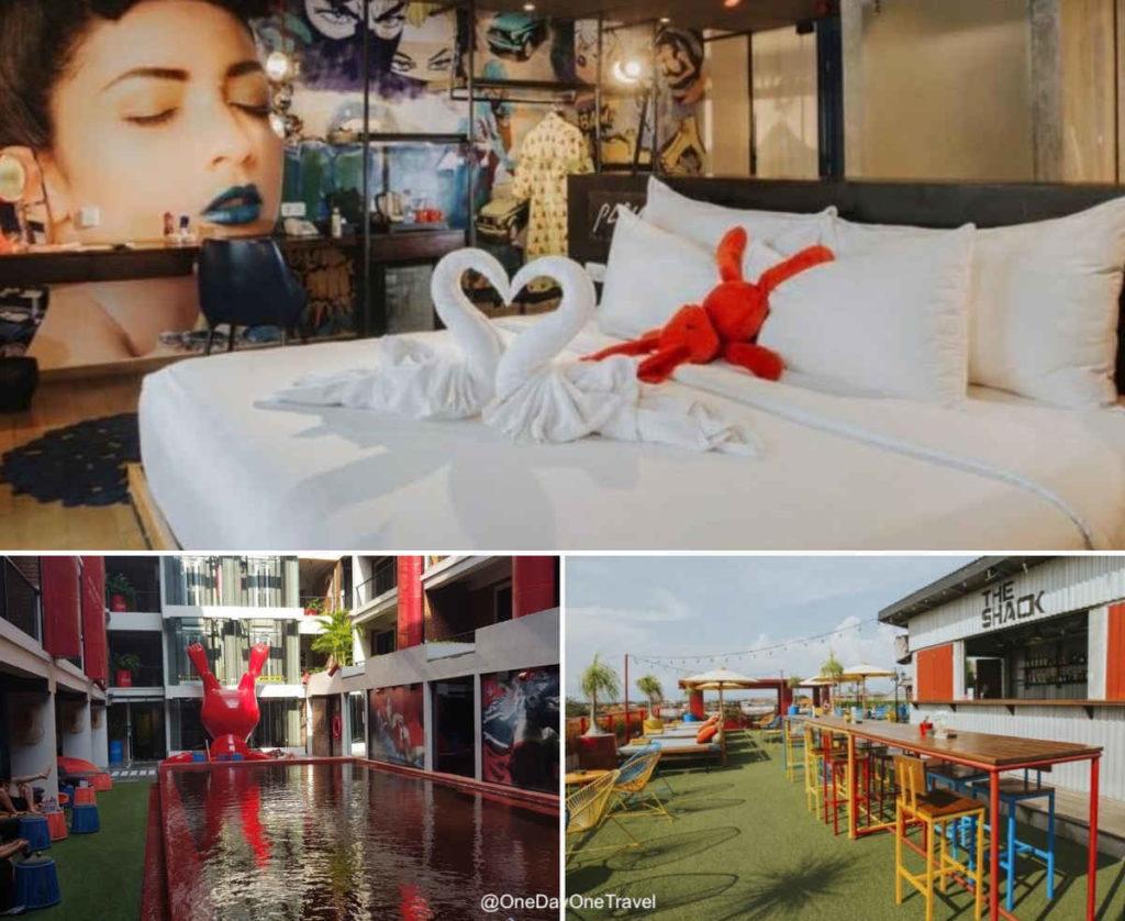 Hotel Dash à Seminyak - suggestions et commentaires où séjourner à Bali