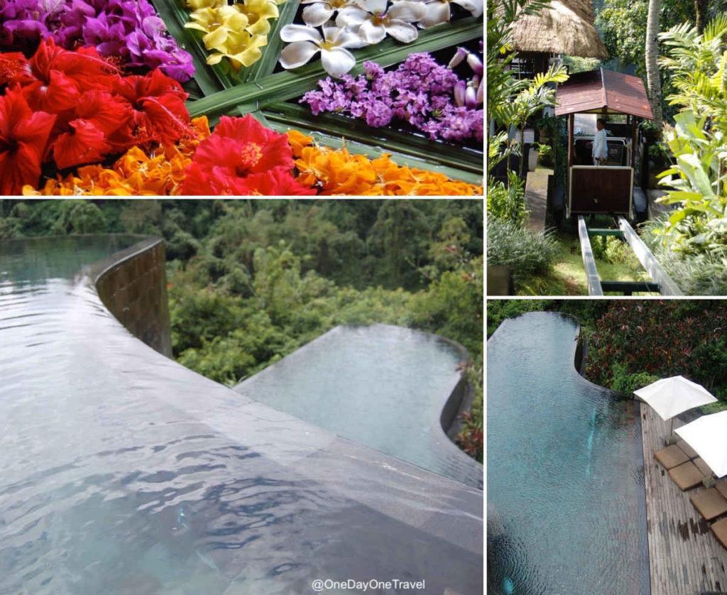 Le Hanging Gardens of Bali se situe à Payangan au nord d'Ubud Bali
