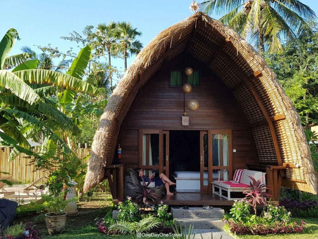 Kelapa Cottage à Amed - Recommandation où dormir à Bali