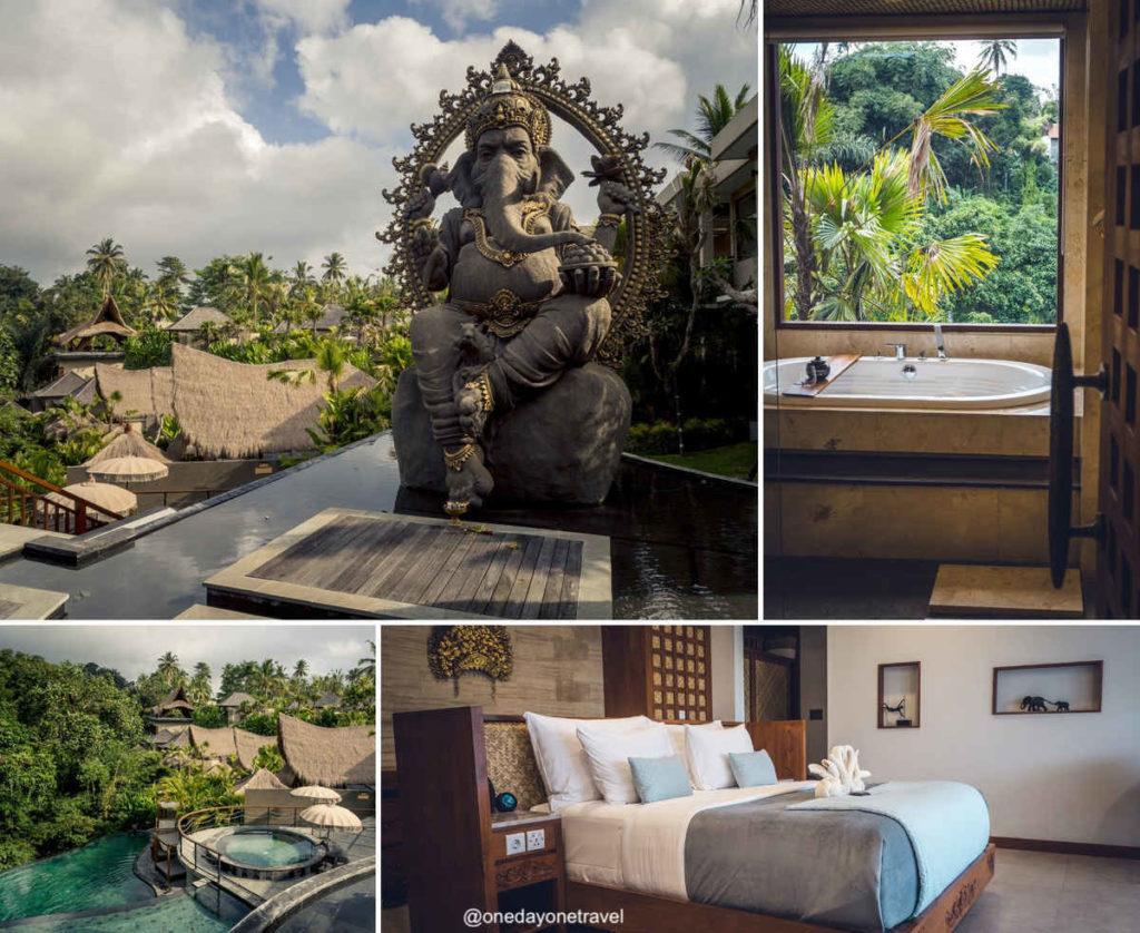 Aksari resort Ubud Tegallalang où dormir à Bali blog voyage