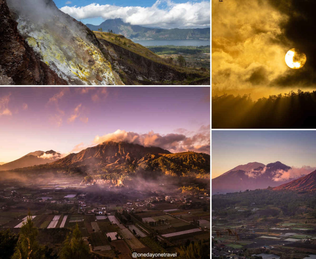Hôtel Batur Panorama volcan où dormir à Bali blog voyage
