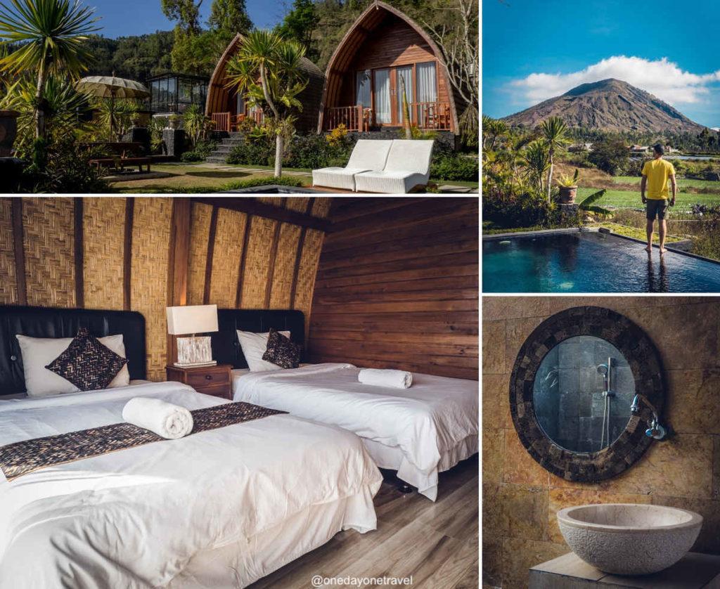 Batur Panorama Kintamani où dormir à Bali blog voyage