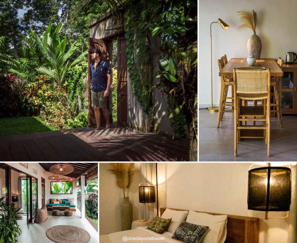 Villa Kicau Ubud Penestanan - Où dormir à Bali blog voyage