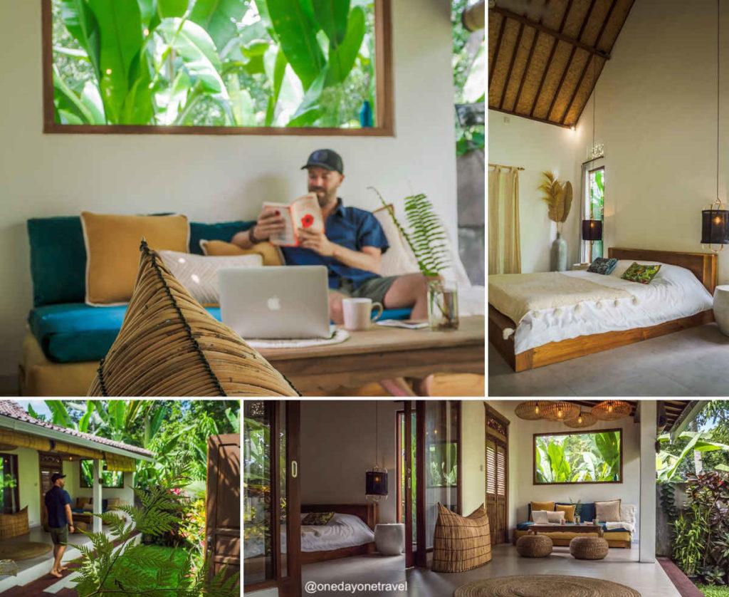 Villa Kicau Ubud où dormir à Bali blog voyage