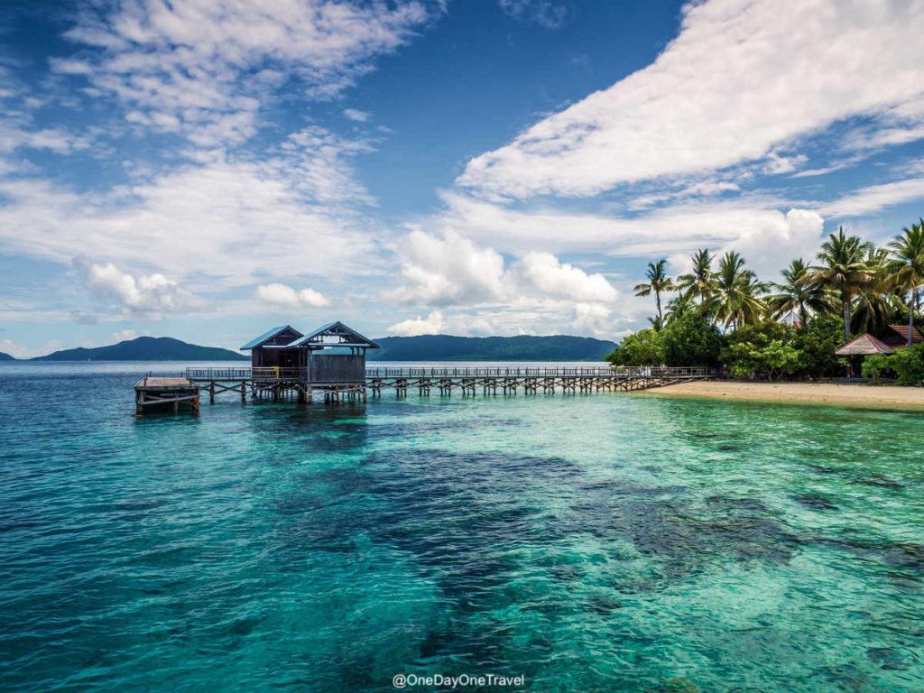 Arborek island - Île paradisiaque de Raja Ampat Indonésie