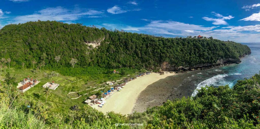 Atuh beach vue panoramique Nusa Penida