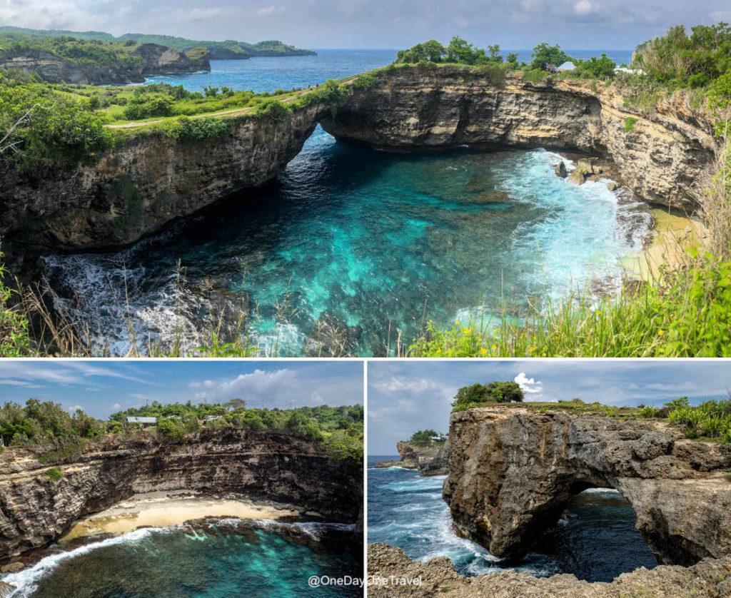 Broken beach nusa penida Indonésie blog voyage OneDayOneTravel
