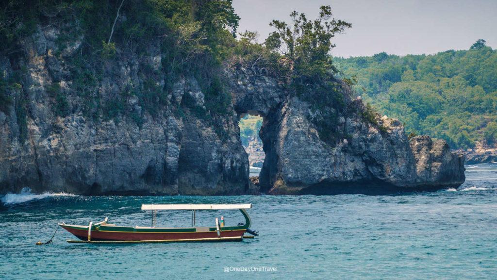 Arche et snorkeling - Crystal Bay Nusa Penida