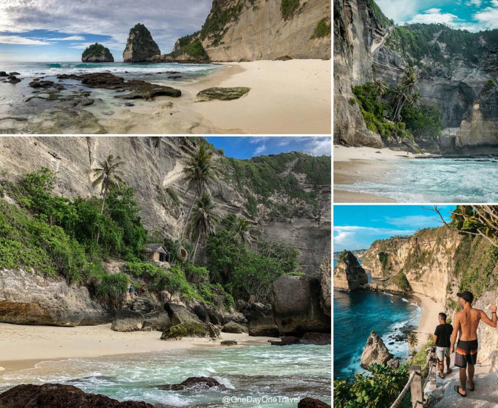 Diamond beach Nusa Penida Indonésie - Blog voyage OneDayOneTravel
