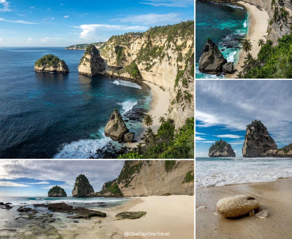 Diamond beach - Visiter Nusa Penida conseils du blog voyage OneDayOneTravel