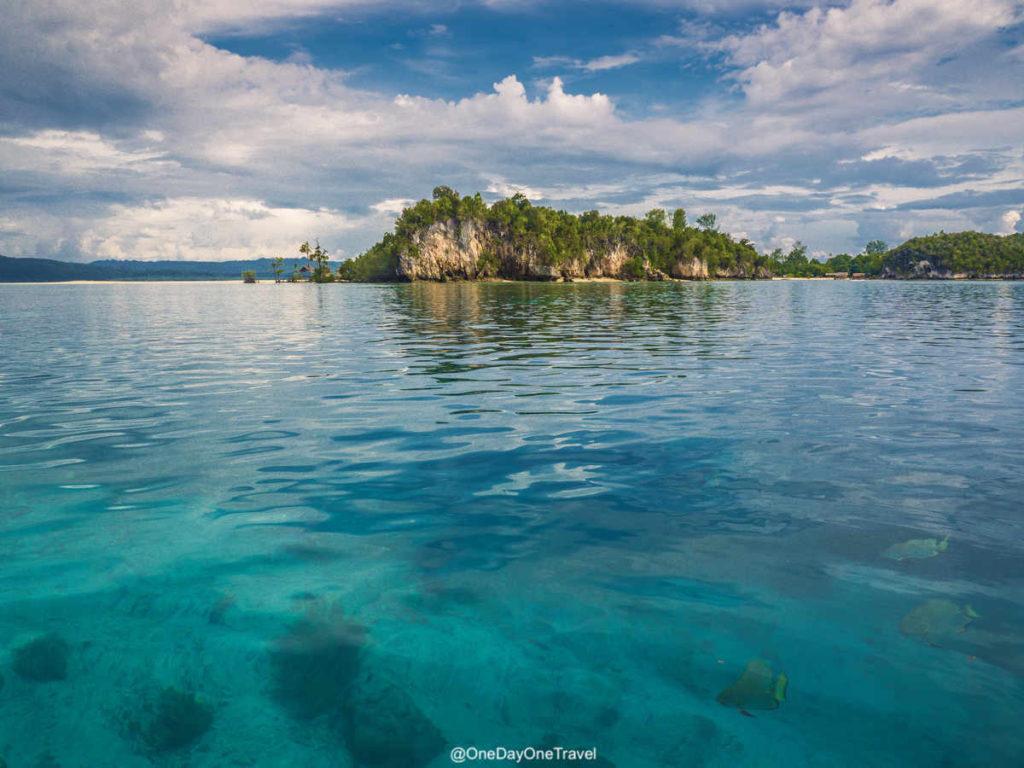 Paysage de rêve à Raja Ampat