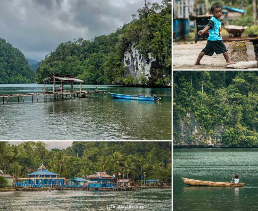 Village de Lopintol à Raja Ampat - Visiter l'Indonésie hors des sentiers battus