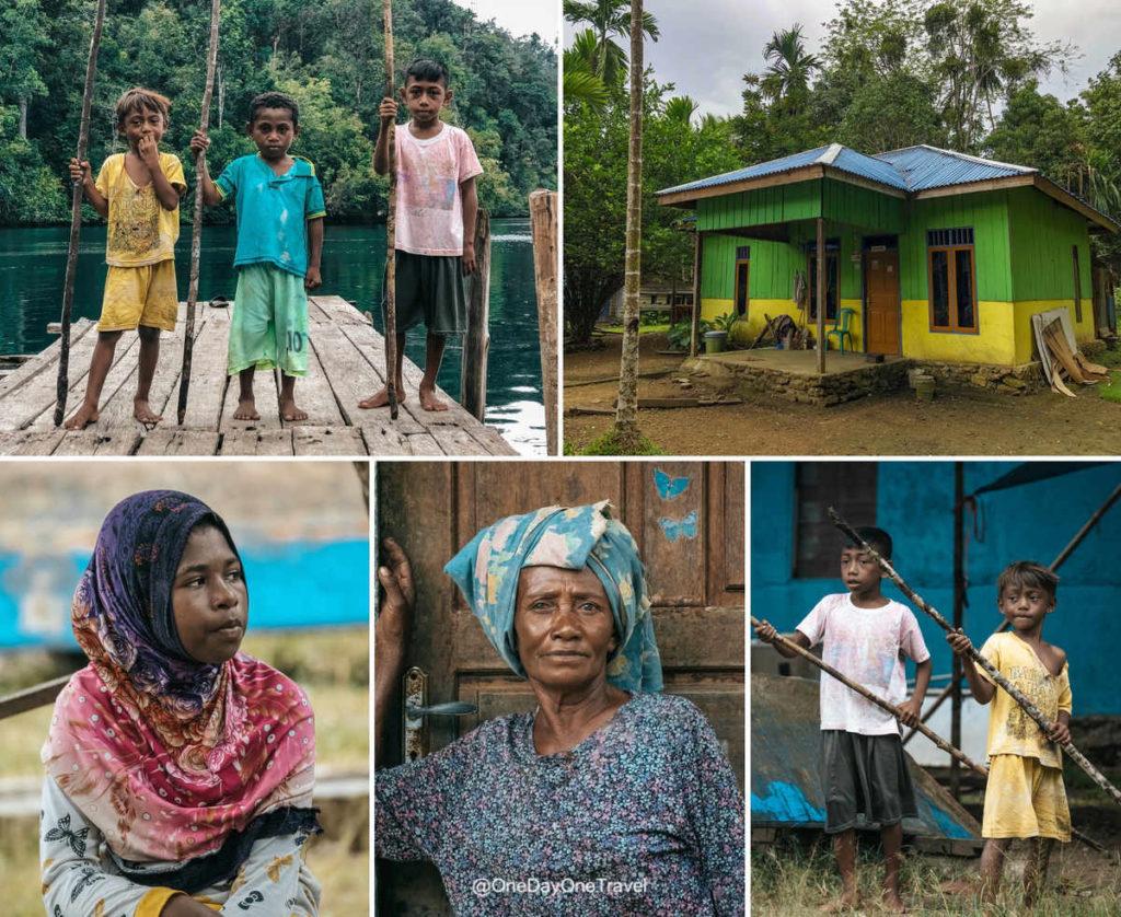 Sourires de Raja Ampat - Village de Lopintol