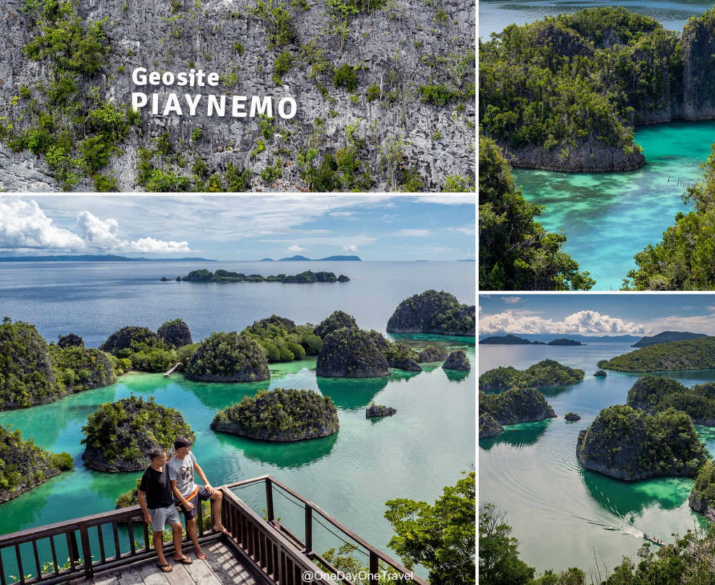 Geosite Piaynemo - Comment y aller et visiter Raja Ampat