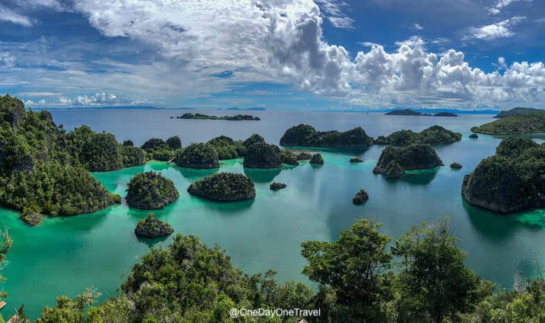 Piaynemo vue iconique des Raja Ampat - Voyager en Indonésie