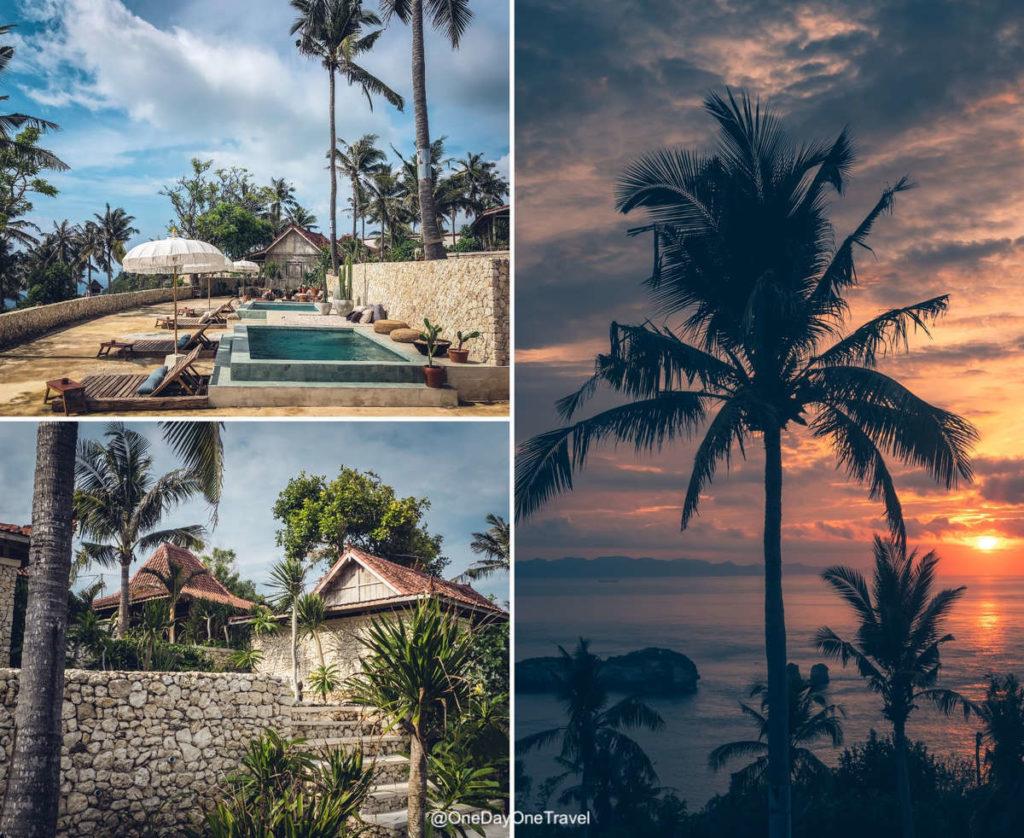 Propriété du Raja Lima resort - Loger à Nusa Penida