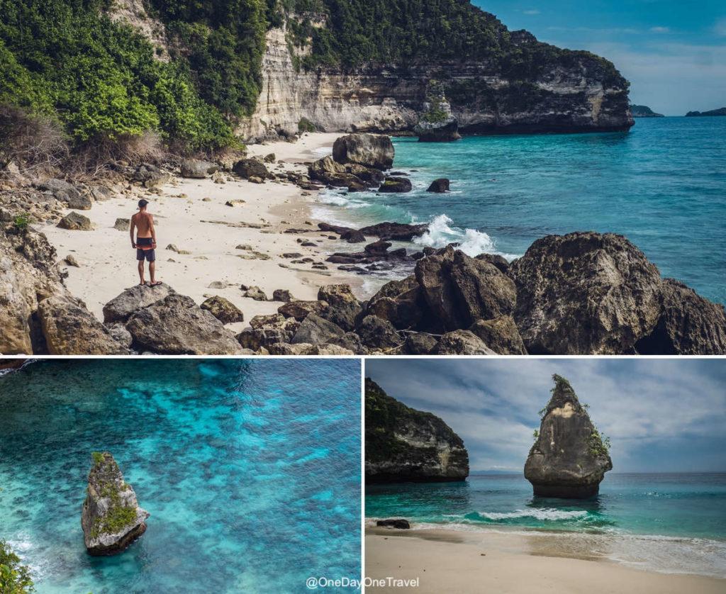 Suwehan beach - Visiter Nusa Penida