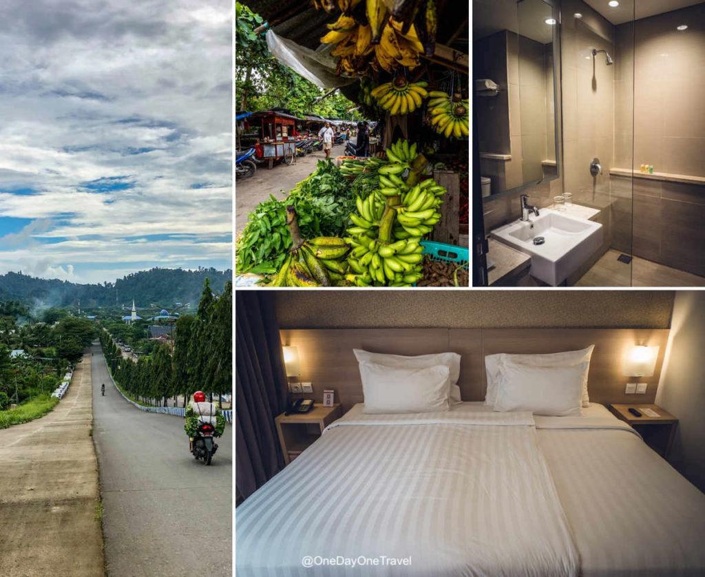 Swiss hôtel à Sorong Raja Ampat - Où dormir à l'arrivée à Raja Ampat ?