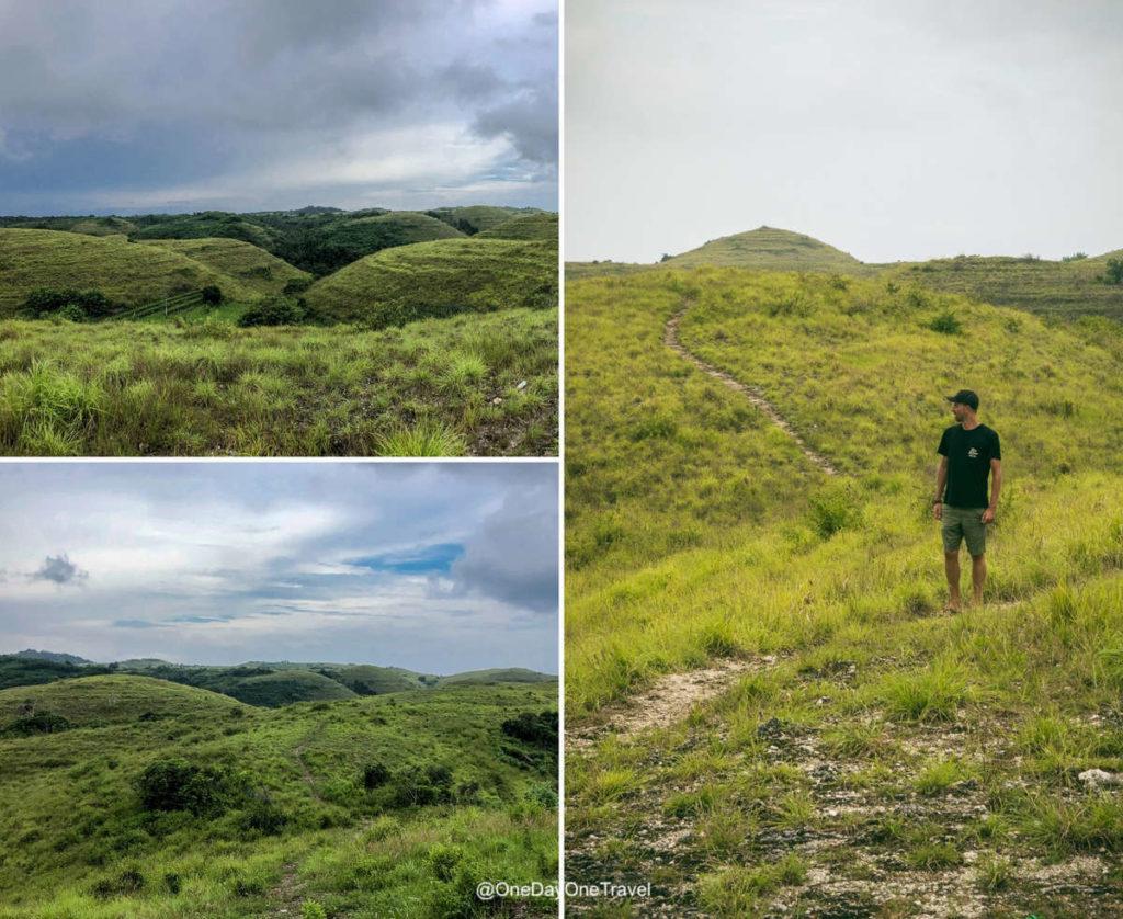 Teletubbies hills - Séjour à Nusa Penida