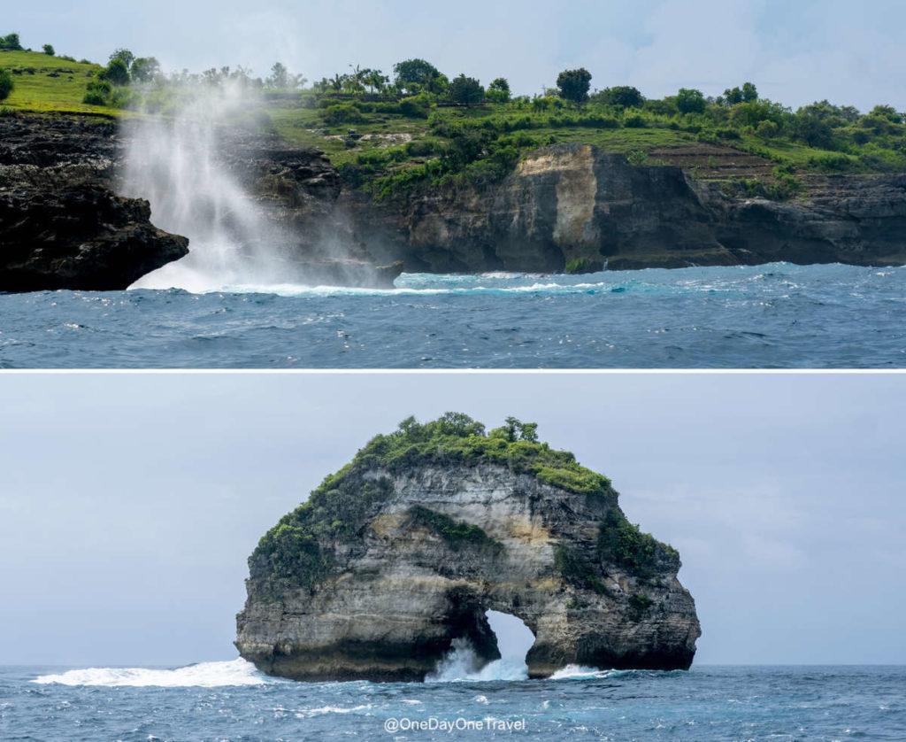 Explorer Nusa Penida depuis la mer - Blog voyage OneDayOneTravel