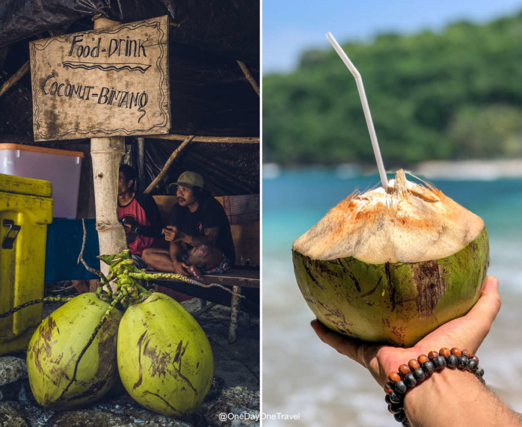 Coconut Bintang avec Lasta sur Crystal bay à Nusa Penida