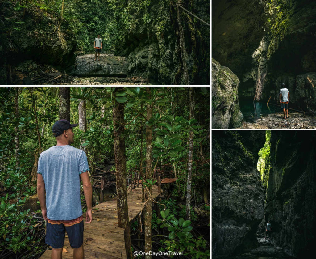 Cascade asséchée d'Ajeli - Visiter Raja Ampat hors des sentiers habituels