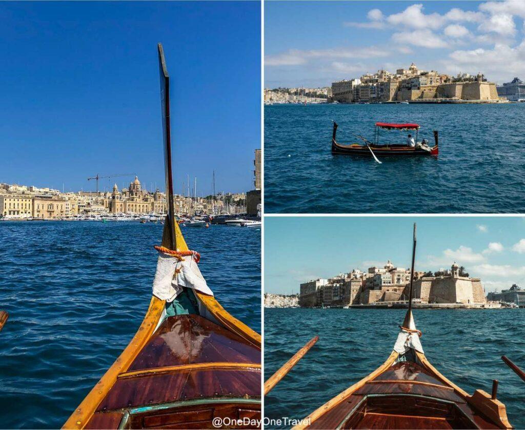 Visiter La Valette en bateau traditionnel - Conseils pour visiter Malte blog voyage OneDayOneTravel