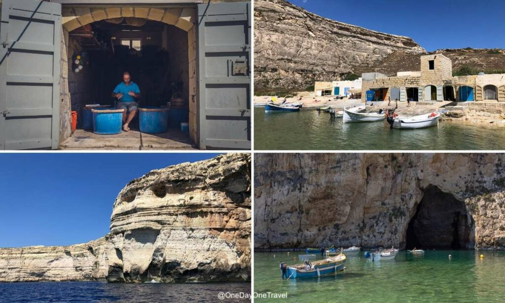 Visiter la baie de Dwerja sur Gozo entre Terre et Mer