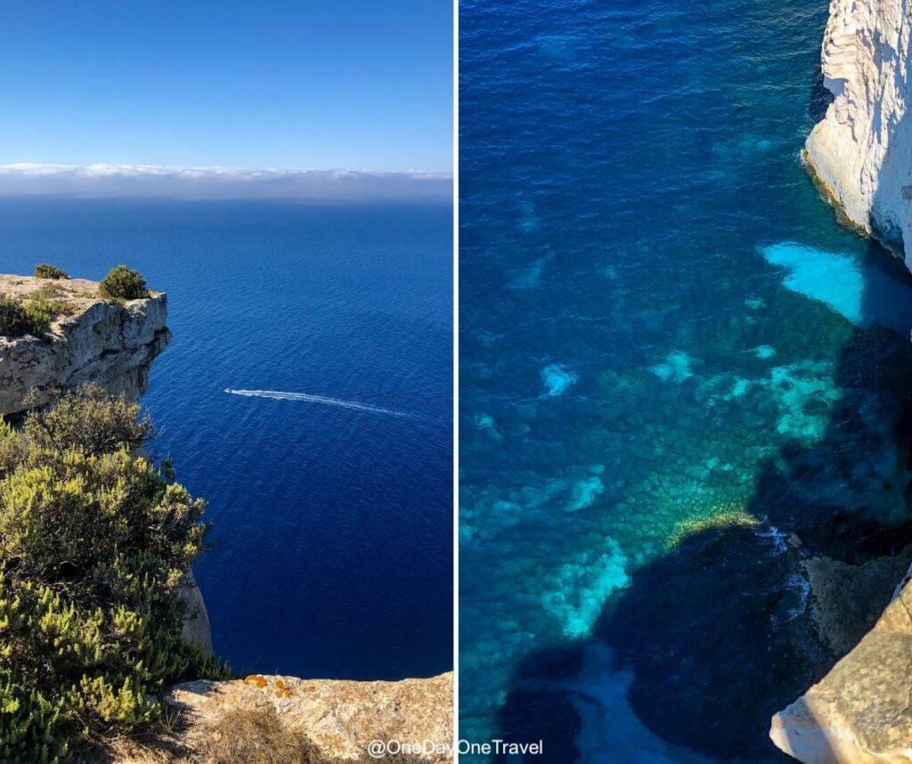 Les impressionnantes falaises de Gozo - Partir en vacances à Malte