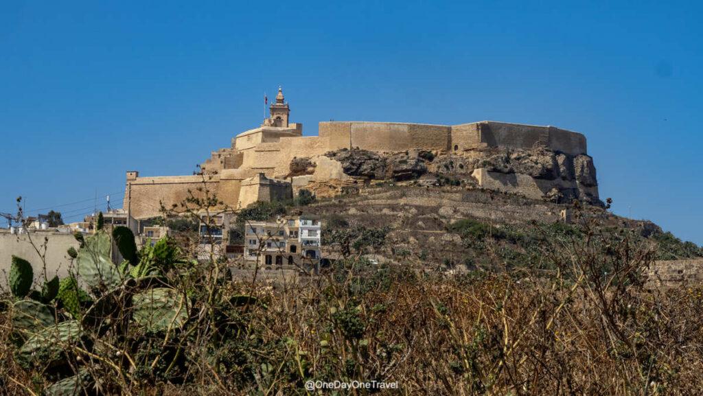 Visiter Malte et la Citadelle de Gozo - Conseils vacances blog voyage que voir à Gozo