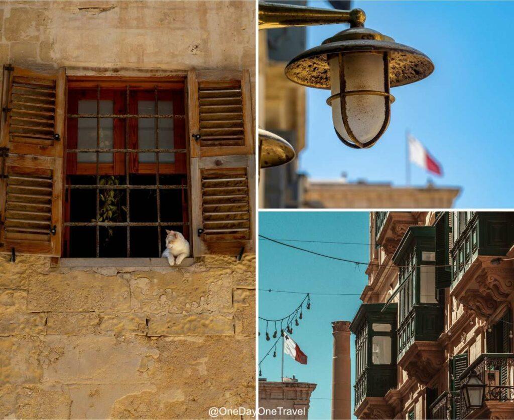 Visite architecturale de La Valette à Malte