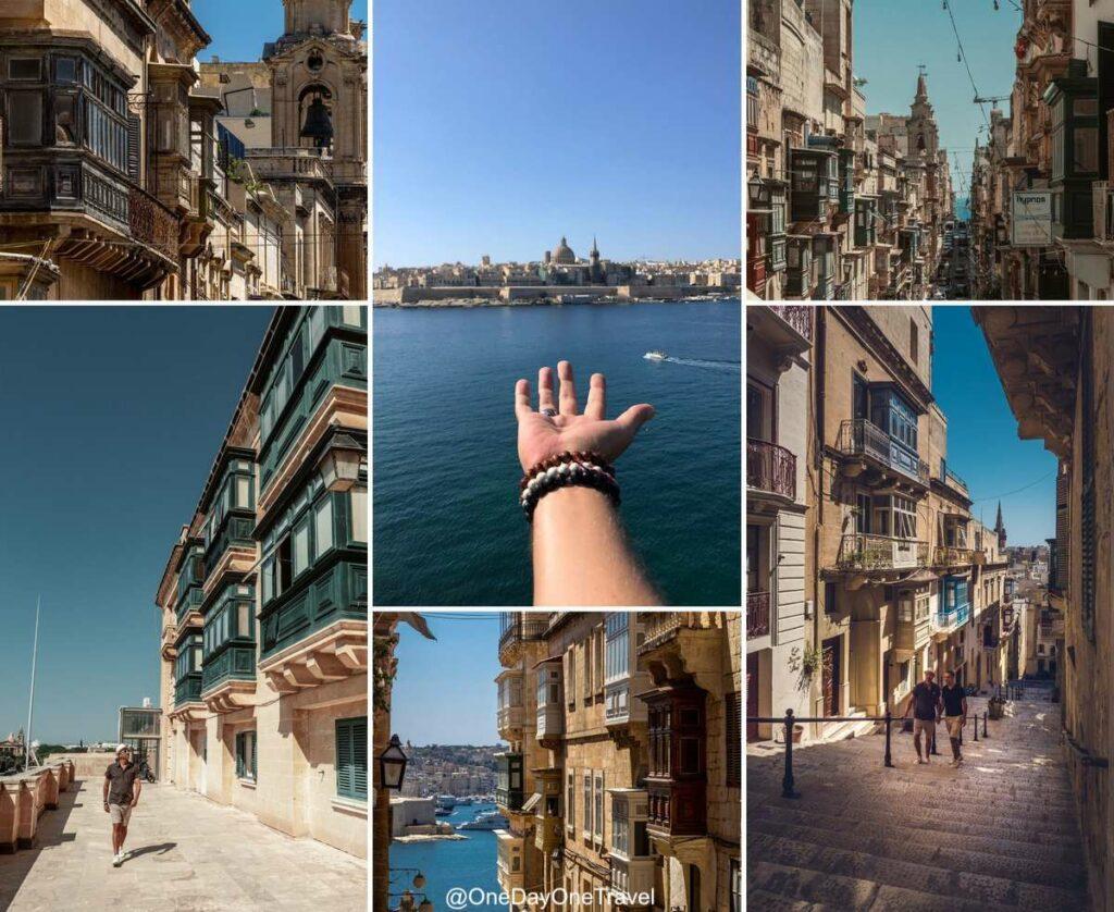 Visiter Malte et ses ruelles aux façades en calcaire ocre - Blog voyage OneDayOneTravel
